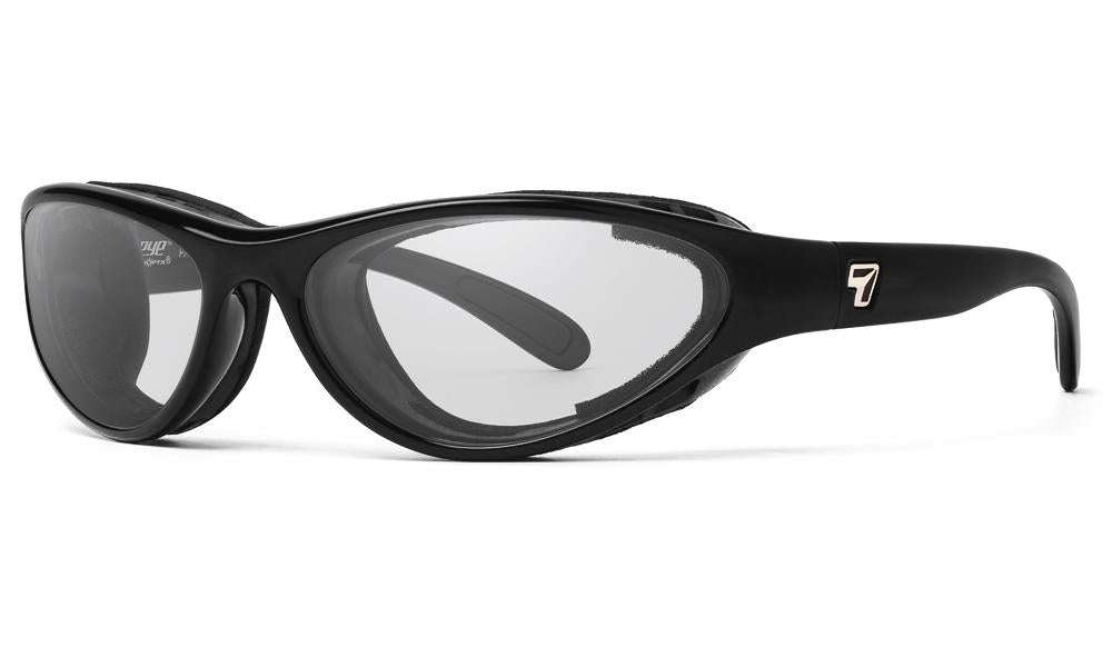 7eye Viento Gloss Black (SMALL fit)