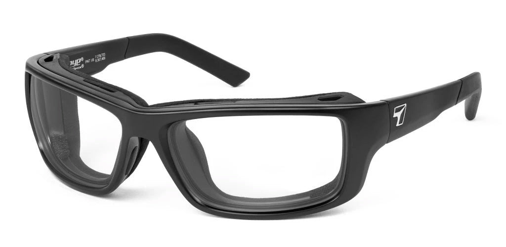 7eye Notus Matte Black (MEDIUM to LARGE fit)