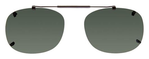Visionaries rimless clip on sunglasses REX