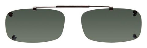 Visionaries rimless clip on sunglasses Tru Rectangle (TRX)