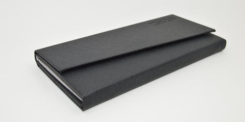 Ziena folding leather glasses case