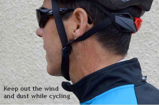 a1d387590092 Eyewear for wind protection, and relief for dry eyes and hay fever ...