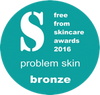 Freefrom Skincare awards 2016 Problem Skin Bronze - The Green Healing Cream by The Balm Boutique