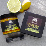 Ginger Lime Gift Set by The Balm Boutique