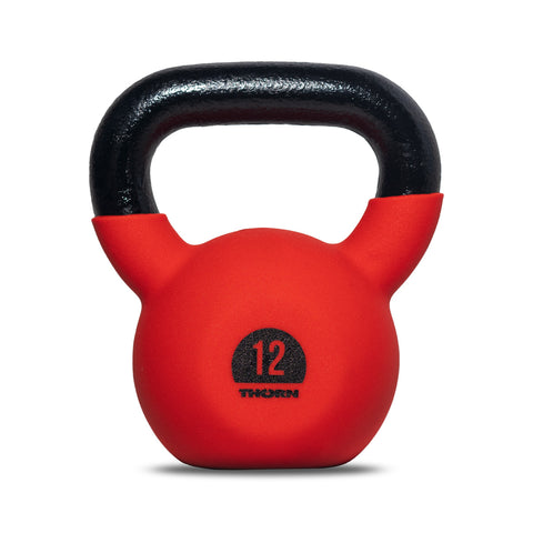 Cast-iron kettlebell with rubber protective coating 12 kg