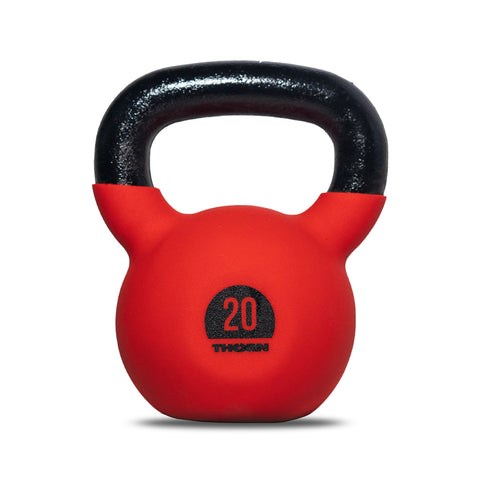 Cast-iron kettlebell with rubber protective coating 20 kg
