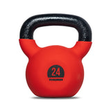 Cast-iron kettlebell with rubber protective coating 24 kg