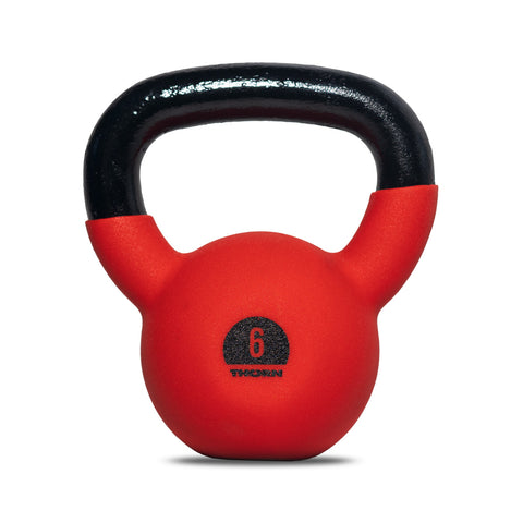 Cast-iron kettlebell with rubber protective coating 6 kg