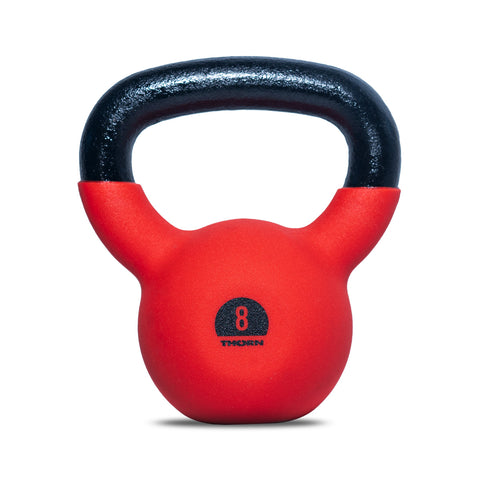 Cast-iron kettlebell with rubber protective coating 8 kg