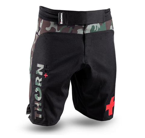 COMBAT TRAINING SHORTS CAMO