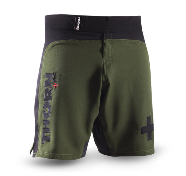 COMBAT TRAINING SHORTS Army green/black
