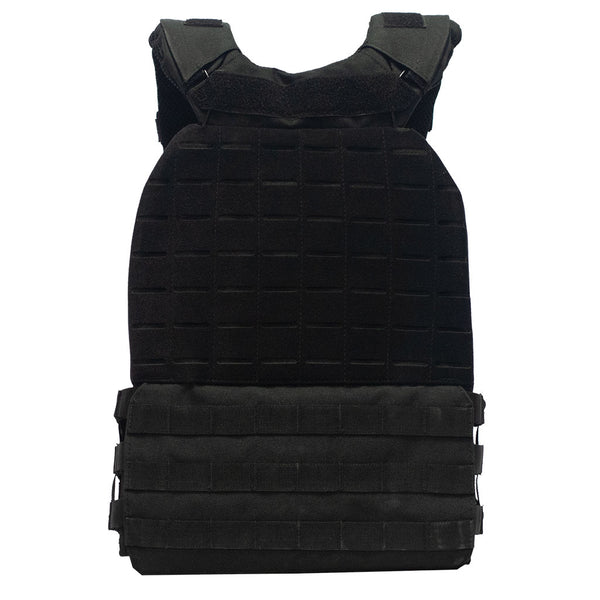 Tactical weight vest black 20LB/9,3KG