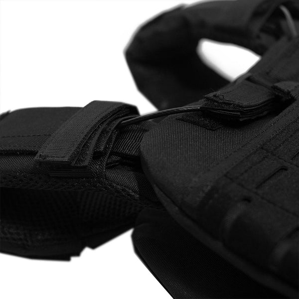 Tactical weight vest black