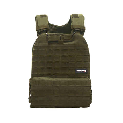 Tactical weight vest army green
