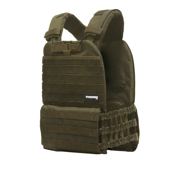 Tactical weight vest army green 20LB/9,3KG