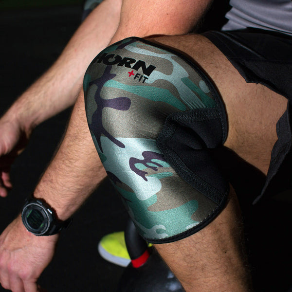 THORN+fit 6mm knee sleeves (camo)