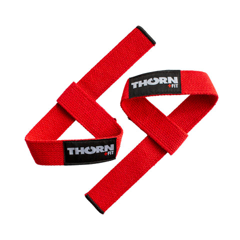 lifting straps thorn+fit red