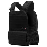 Tactical weight vest black 14LB/6,5KG