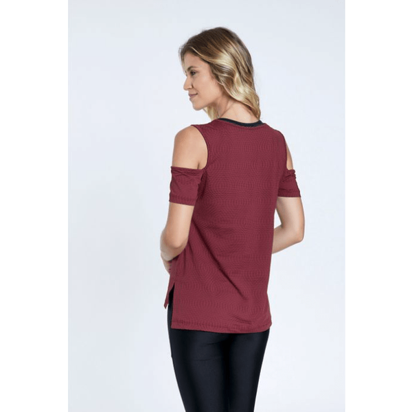 Saint Active Cut Out Workout Shirt