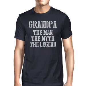 Legend Grandpa Mens Special Tee Shirt for Grandpa Fathers Day Gift