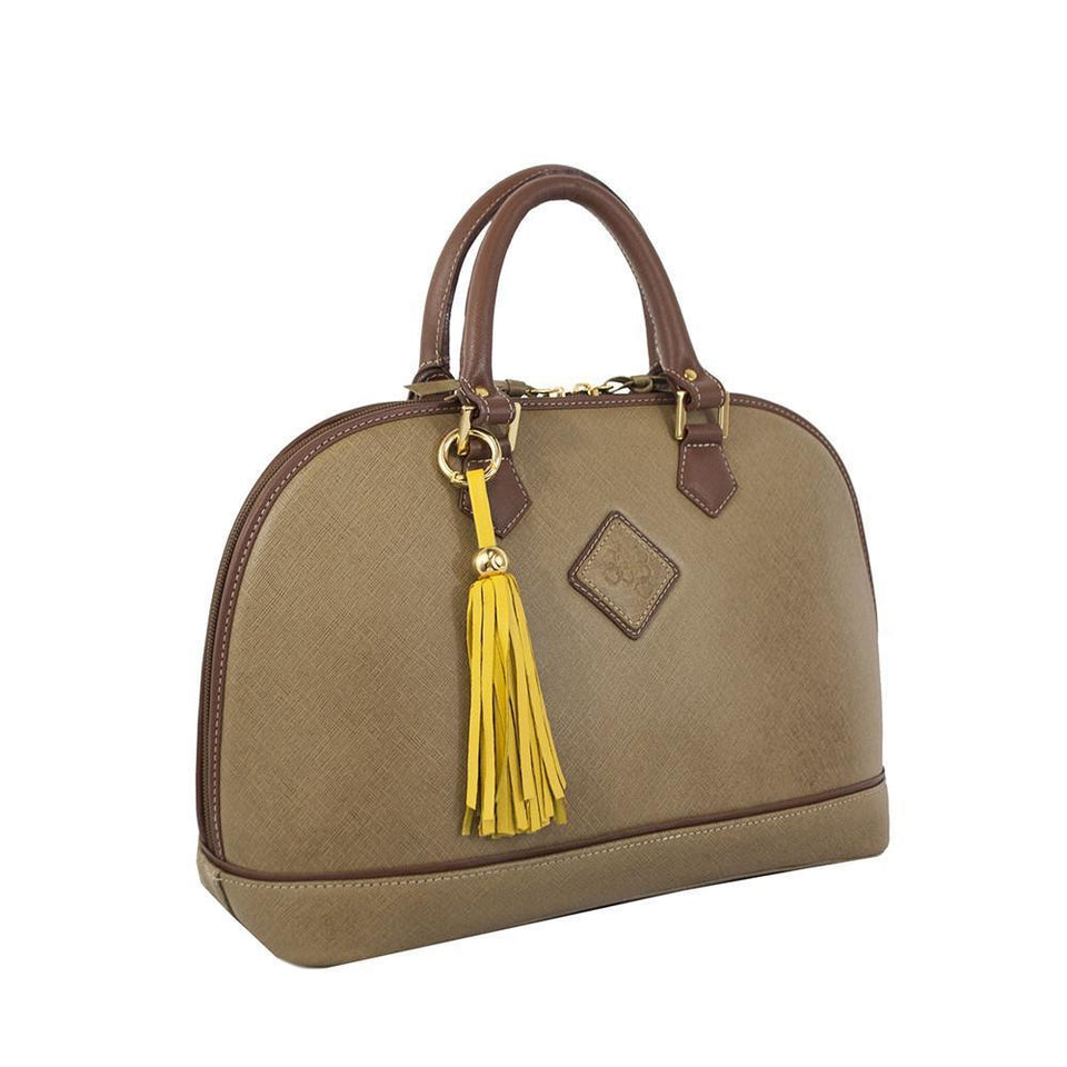 Antonia Handbag- Tan/Caramel