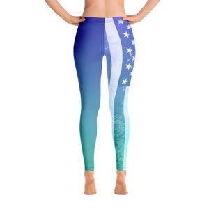 Women's All Day Comfort All American Full Length Leggings