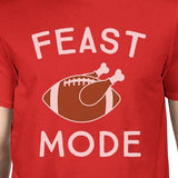 Feast Mode Mens Red Shirt