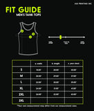 Llama Pattern Mens Funny Gym Workout Tank Top Funny Gift for Him