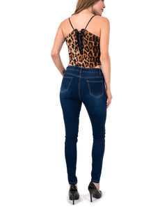 Easton Leopard Sleeveless Bodysuit