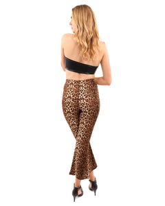 Oxford Leopard Print Pants