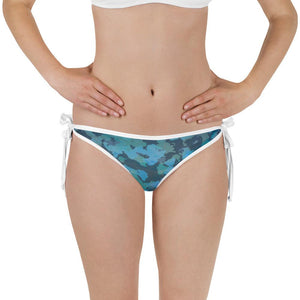 Find Your Coast Reversible Swimwear OUR Outdoors Camo Bikini Bottom