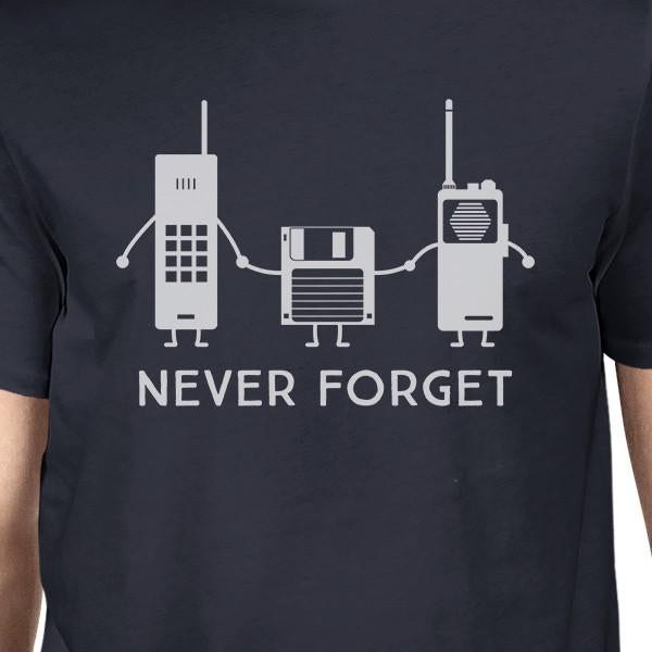 Never Forget Mens Navy Shirt