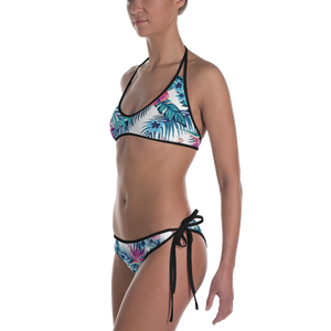 Find Your Coast Reversible Swimwear Florida Floral Bikini