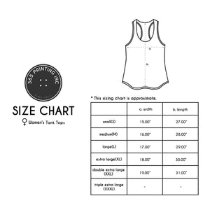 Cute White Let's FlamMingle Women Tank Top for Summer Beach Yoga Gym Wear