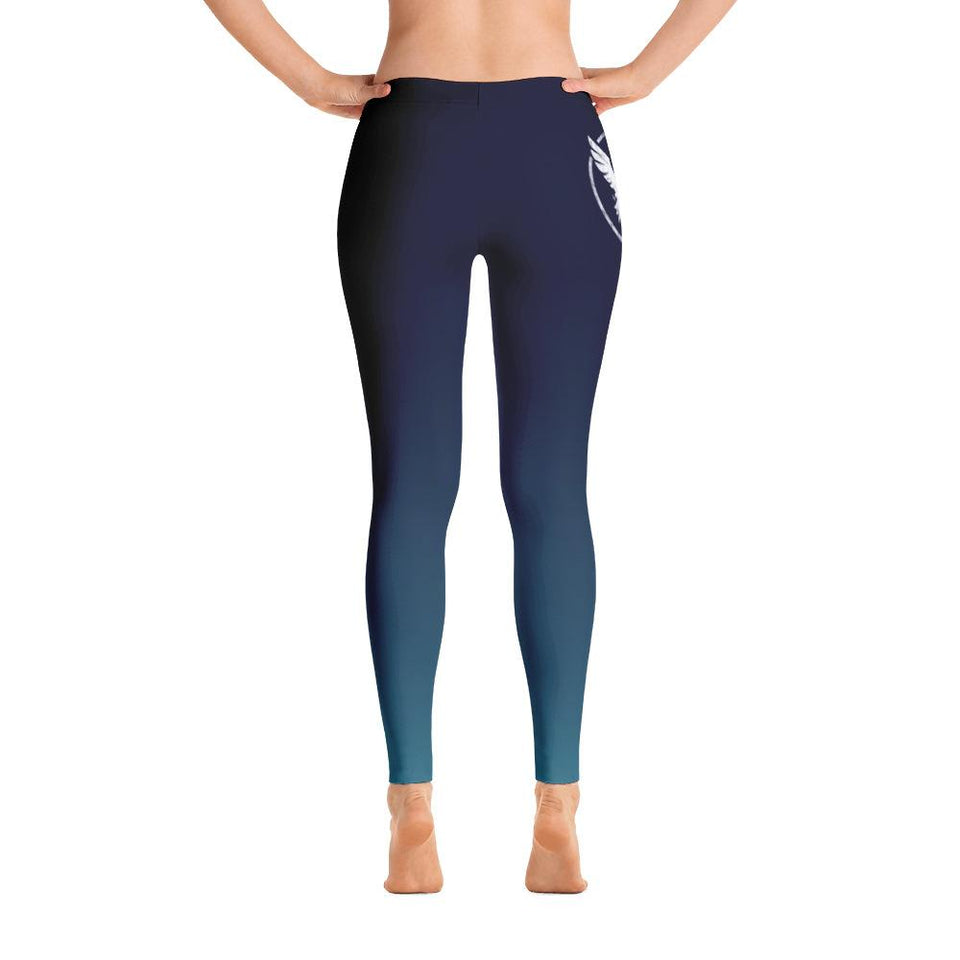 Women's All Day Comfort Full Length Leggings Pacific Supply II Blue Fade