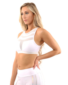Laguna Sports Bra - White