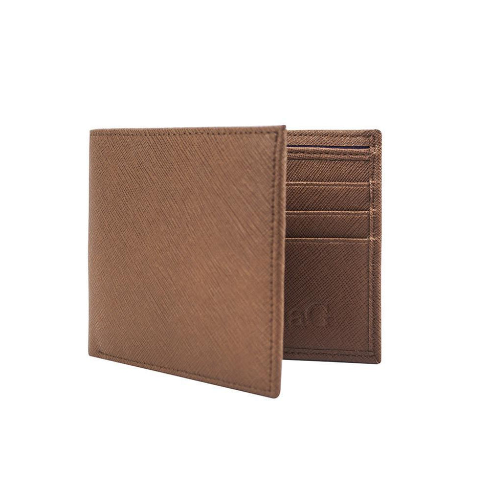 Men's Leather Wallet - Chocolate