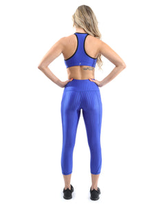 Firenze Activewear Sports Bra - Blue
