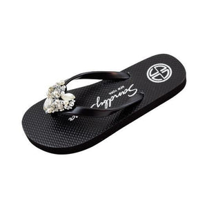 Chelsea Heart (Crystal) - Big Kids Sandal