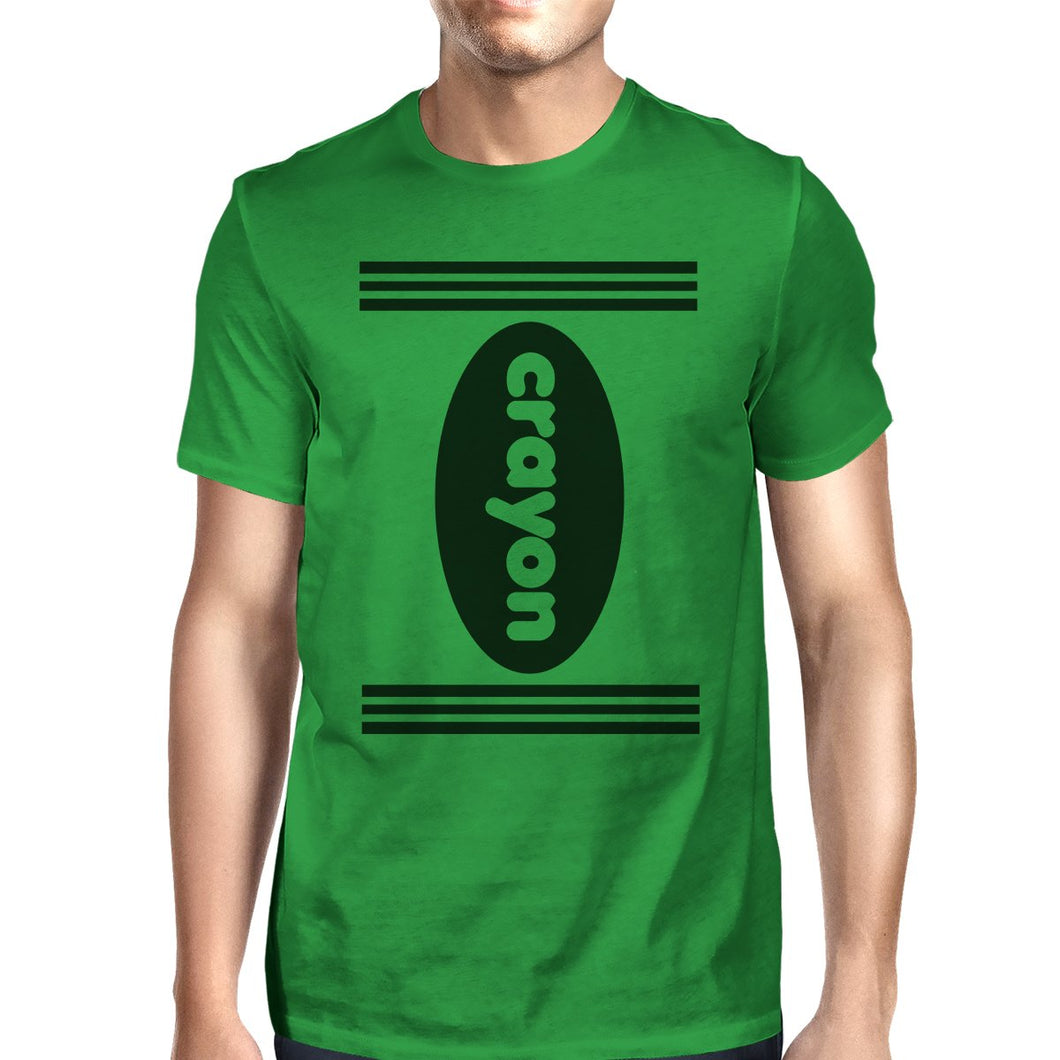 Crayon Mens Green Shirt