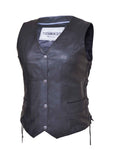 Slinger Traditional Side Laced Vest Womens