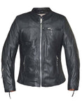 Karma Womens Leather Jacket