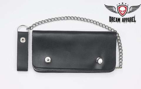 Bifold Chain Wallet (Extra Large Trucker Style)