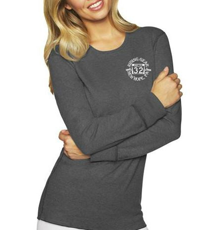 Long Sleeve Thermal Ladies Route 32 Shirt