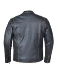 Modest Ultra Soft Mens Distressed Leather Jacket