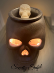 Skull Fragrance Warmer Wickless Candle