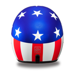 Captain America Cruiser Helmet Smallest 3/4 DOT - Web only
