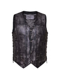 Amarillo Vest Mens 10 pocket (snap, side tie)