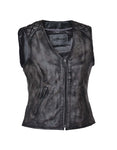 Amarillo Zippered Womens Vest (quilted)