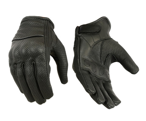 Perforated Sporty Glove Womens
